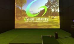 自宅ゴルフシミュレーター設置